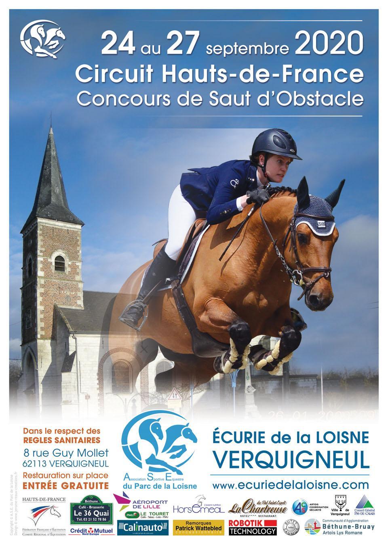 Circuit Hauts-de-France de CSO - 24 au 27 septembre 2020
