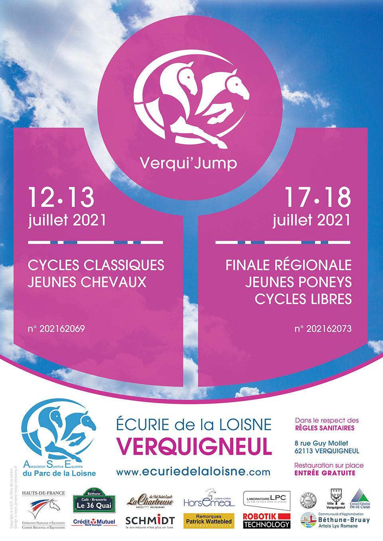 12-13 / 17-18 juillet 2021 - Cycles Classiques Jeunes Chevaux / Finale Régionale Jeunes Poneys